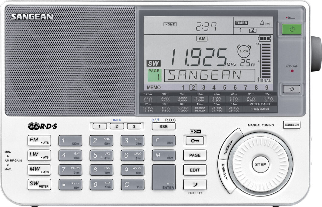 Sangean ATS-909X blanco